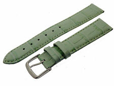 # L023 # UHRENARMBAND ARMBAND LEDER KROKO OPTIK BRACELET LEATHER 18 MM
