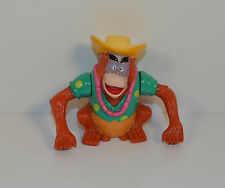 """RARE 2.5"""" King Louie Wind-Up Action Figure McDonald's Disney Talespin"""