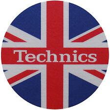 Slipmats Technics bandiera inglese / Union Jack (1 Pezzo / 1 pezzo)