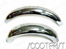 Royal Enfield Mudguard Fender Front Rear Set Bullet Chrome 500cc
