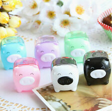 Cute Mini Pig Pencil Sharpener Mechanical for School Kids Gift 1pc Sell