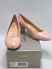TROTTERS SIGNATURE Women's PENELOPE Classic Blush Pink  Leather Pumps US 7.5M