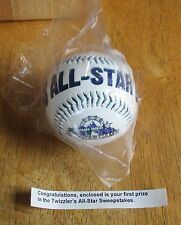 1998 TWIZZLER'S ALL-STAR GAME SWEEPSTAKES BASEBALL. NIP (FLO)