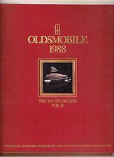 Oldsmobile Firenza & Cutlass 1988 USA Market Sales Brochure
