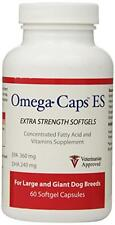Omega-Caps ES - Extra Strength For LARGE and GIANT Dogs (60 Softgel Capsules), N