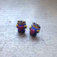 earrings Minions Minion Studs Valentines Day Gift Handmade Cute Fimo Party