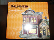 DEPT 56 HALLOWEEN VILLAGE CRITTER'S PETS & AND PELTS NIB