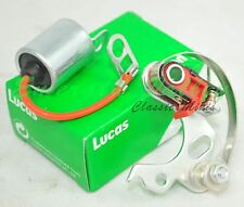 "Classic Mini Lucas ""Quikfit"" Points and Condenser set to fit 22D to 25D"