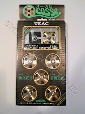 TEAC OCASSE OPEN REEL CASSETTE OC-5M ULTRA RARE FOR COLLECTORS   Made in Japan
