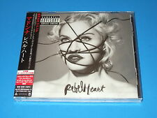 2015 JAPAN MADONNA REBEL HEART CD W/BONUS TRACK & ENGLISH LYRICS