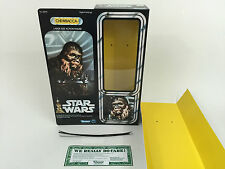 "replacement vintage star wars 12"" chewbacca box + inserts fantastic quality"