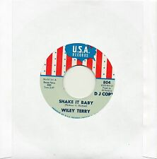 WILEY TERRY-SHAKE IT BABY/MISS ANN LITTLES-I WILL BE GOT DOG  USA  Rr-Iss/Re-Pro