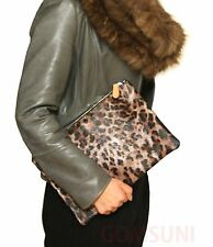 Envelope Clutch Big Pures Korean Fashion Leopard Design Party Bag Women Handbag