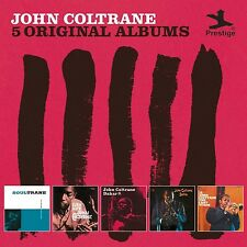 JOHN COLTRANE - 5 ORIGINAL ALBUMS 5 CD NEU