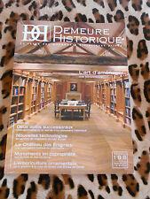Revue Demeures Historiques n° 198, septembre 2015