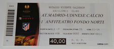 old TICKET EL Atletico Madrid Spain - Udinese Calcio Italy