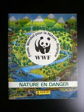 Album Panini WWF Nature en Danger