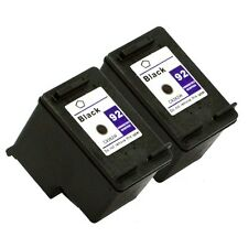 2PK HP 92 Black Ink Cartridge For Deskjet 5420 5420v 5440 5440xi 5442 5443