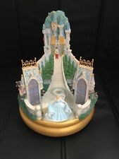 Disney Multi Princess Rotating Snowglobe With Music Rare Cinderella Snow white