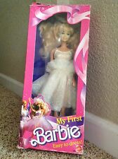 Vintage My First Barbie 1988 NIB