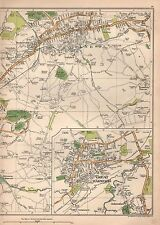 1935 LANCASHIRE:COLNE,GREAT HARWOOD,TRAWDEN FOREST