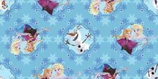 Fat Quarter Disney Frozen Sisters Skating Framed 100% Cotton Quilting Fabric
