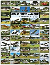 Grass Strip Aviator Poster A - Unique And Classic Grass Strip Aircraft Around NE