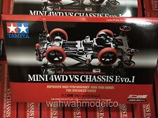 TAMIYA 94734 JR Mini 4WD VS Chassis Evo.1 Limited Edition 1/32 Mini 4WD