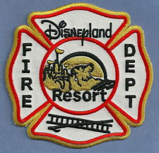 DISNEYLAND RESORT CALIFORNIA FIRE DEPARTMENT PATCH