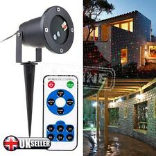 Outdoor Xmas Light Sky Star Laser Spotlight Lights Shower Garden Christmas New