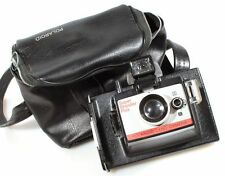 POLAROID LAND CAMERA SUPER SHOOTER PLUS W/ FLASH CUBE MOUNT AND CASE