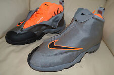 New Men's Nike Air Zoom Flight The Glove Gray 616772-002 Gary Payton Oregon sz 8