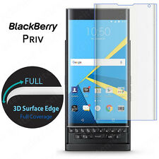 Package Full Cover Curved Tempered Glass Screen Protector for BlackBerry Priv