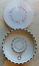 Genuine Thomas Sabo silver 925 charm club adjustable length bracelet up to 19cm