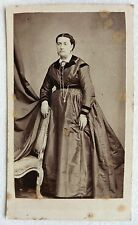 CDV PHOTO SECOND EMPIRE CORET PEINTRE PHOTOGRAPHE JEUNE FEMME ENCEINTE E186