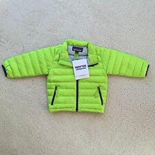 PATAGONIA BABY DOWN SWEATER  IN PEPPERGRASS GREEN SIZE 6-12 MONTHS NEW WITH TAGS