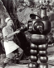 Earl Holliman Robbie The Robot 8x10 photo S2285