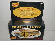 Vintage Lindberg Line HO Scale Mini-Lindy School Bus Kit #23 NOS