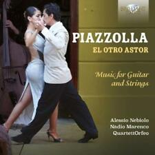 Nebiolo,Alessio - El Otro Astor-Music for Guitar and Strings - CD