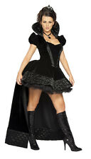 COSTUME CARNIVAL QUEEN EVIL WITH TAIL SIZE M (38) COSTUMES HALLOWEEN (8426)
