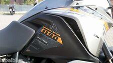 2 AUFKLEBER 3D SCHUTZ SEITENLICHTER TANK kompatibel x MOTO KTM 1190 ADVENTURE