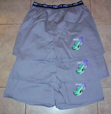 "3-PAIR! SKOAL MUSIC ""TUNE IN"" BOXER SHORTS NEW/UNUSED GRAY"