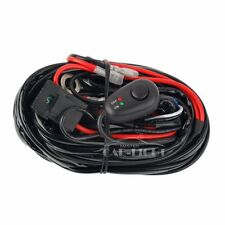 10FT 12V 40A Power Switch Relay Fuse Wiring Harness Kit for 2 LED Light Bar 300W