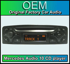 Mercedes CLK C209 Audio 10 CD player, Merc C209 car stereo + radio code