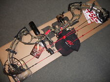 "PSE-RH-Bow-59/70# INERTIA COUNTRY Camo 24.5/30"" Loaded With all GOOD STUFF"