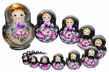 20- PC RUSSIAN NESTING DOLLS MATRESHKA #9182