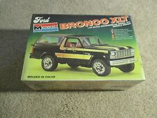 Monogram Ford Bronco XLT 1:24 Scale Model Kit 1981 Sealed MISB See My Store