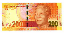 South Africa.....P-NEW.....200 Rand.....ND(2013).....*UNC*