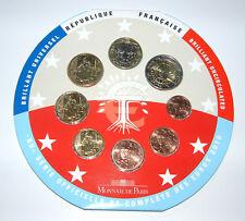 France 2010-Officiel (BU) Euro Coin Set * RARE * (sans housse)