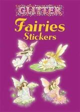 Dover Little Activity Books Stickers: Glitter Fairies Stickers (2004, Paperback)